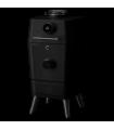 4K Everdure by Heston Blumenthal  bbq ξύλου και smoker με ηλεκτρονική έναυση (μαύρο)